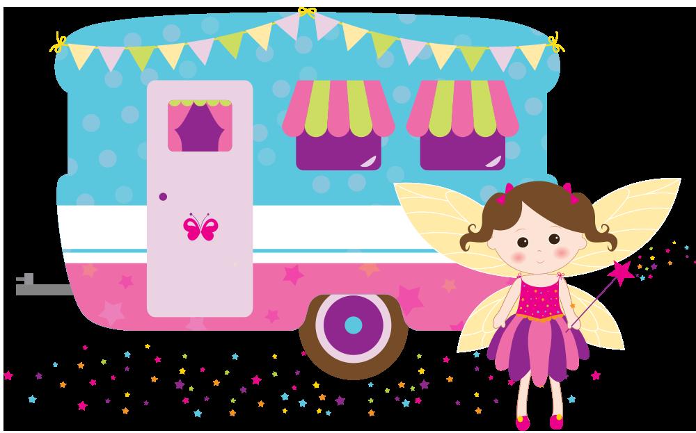 Party Caravan with fairy