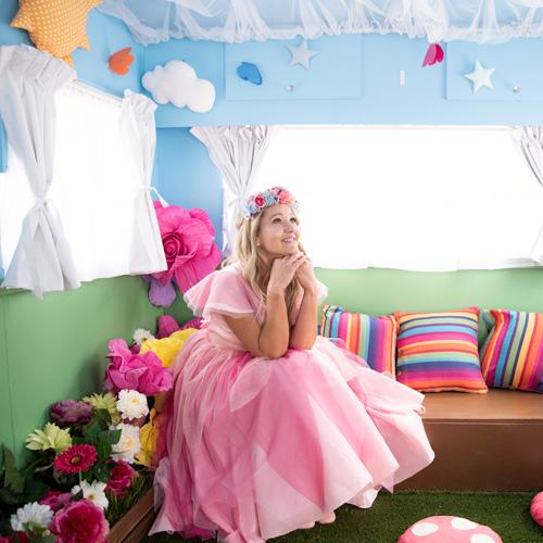 Party Caravan Interior with Fairybelle
